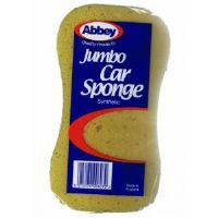 Jumbo Synthetic Yellow Car Auto Sponge